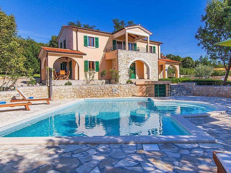 5 bedroom Villa in Rabac Sveti Lovrec Labinski, Istria, Croatia : ref 2020772 - Image 1 - Viskovici - rentals