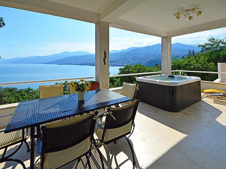4 bedroom Villa in Opatija Preluka, Kvarner, Croatia : ref 2020804 - Image 1 - Matulji - rentals