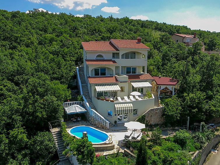6 bedroom Villa in Crikvenica Jadranovo, Kvarner, Croatia : ref 2020849 - Image 1 - Jadranovo - rentals