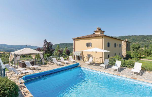 5 bedroom Villa in Subbiano, Tuscany, Arezzo / Cortona And Surroundi, Italy : ref 2039511 - Image 1 - Subbiano - rentals