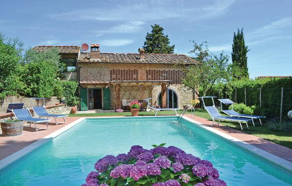 3 bedroom Villa in Montespertoli, Tuscany, Chianti, Italy : ref 2040282 - Image 1 - Lucardo - rentals
