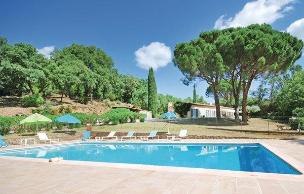 5 bedroom Villa in Grimaud, Cote D Azur, Var, France : ref 2041401 - Image 1 - La Garde-Freinet - rentals