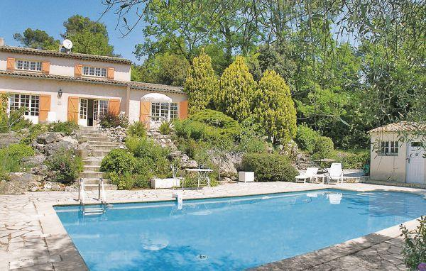 3 bedroom Villa in Roquefort les Pins, Cote D Azur, Alps, France : ref 2042256 - Image 1 - Roquefort les Pins - rentals
