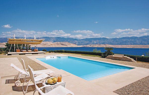5 bedroom Villa in Pag, Kvarner, Croatia : ref 2043033 - Image 1 - Pag - rentals