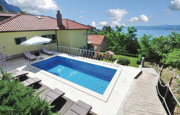 5 bedroom Villa in Omis Lokva Rogoznica, Central Dalmatia, Omis, Croatia : ref 2043505 - Image 1 - Lokva Rogoznica - rentals