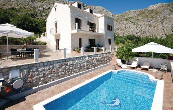 4 bedroom Villa in Dubrovnik Mokosica, South Dalmatia, Dubrovnik, Croatia : ref 2044587 - Image 1 - Komolac - rentals
