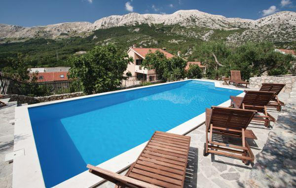 5 bedroom Villa in Krk Draga Bascanska, Kvarner, Krk, Croatia : ref 2044629 - Image 1 - Draga Bascanska - rentals