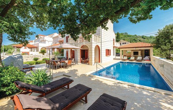 5 bedroom Villa in Dubrovnik Zaton Veliki, South Dalmatia, Dubrovnik, Croatia : ref 2044652 - Image 1 - Zaton (Dubrovnik) - rentals