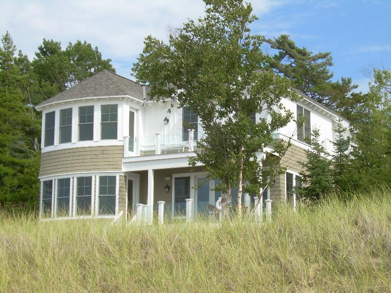House from Beach - Lake Michigan Beachfront Luxury Home - Bliss - rentals