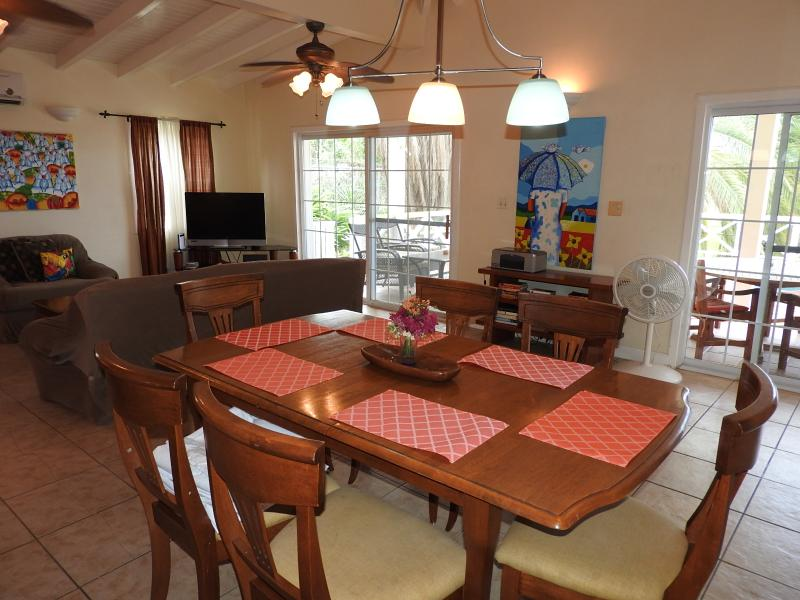 Dining room area - Spring Villa, Harbour View Estate, Antigua - Bolans - rentals