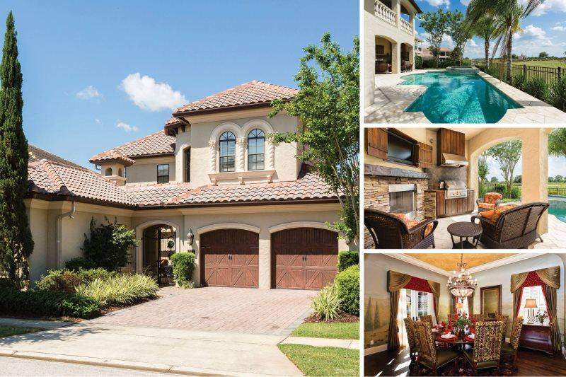 Muirfield Retreat | 4,589 sq. ft Villa with a Private Pool and Spa with Golf - Image 1 - Kissimmee - rentals