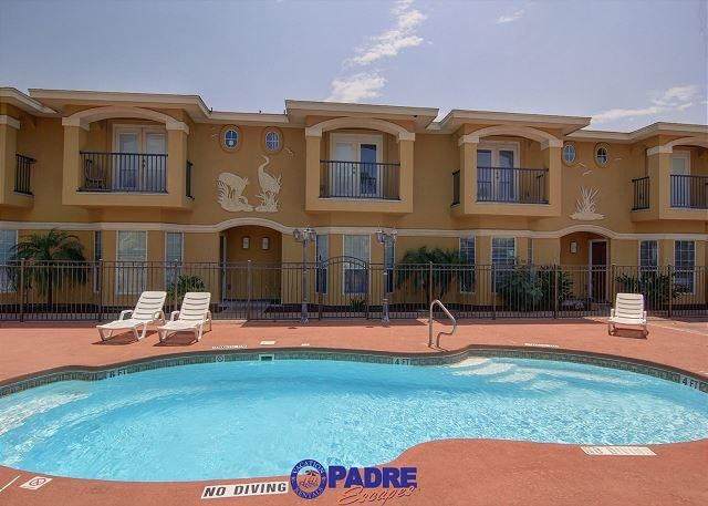 Complex pool area - All-New 3/2.5/2 Townhouse in a great location! - Corpus Christi - rentals