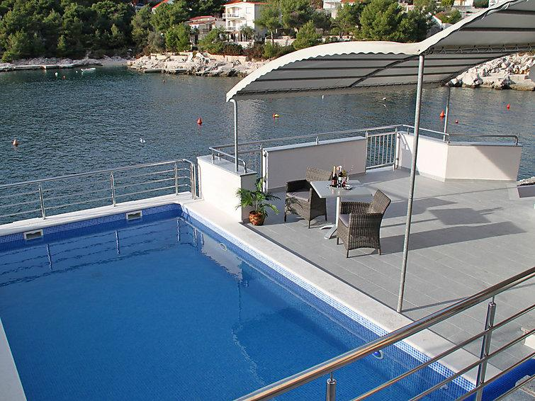 4 bedroom Villa in Rogoznica Razanj, Central Dalmatia, Croatia : ref 2058587 - Image 1 - Cove Stivasnica (Razanj) - rentals