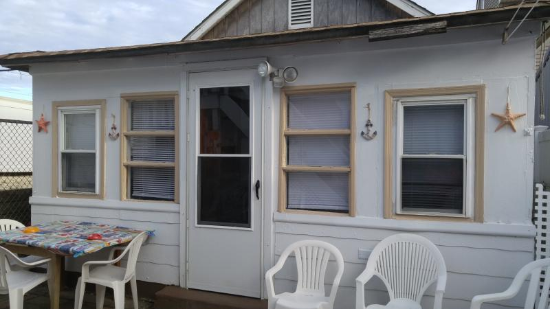 outside patio area - Private Cottage/100 Ft from Boardwalk/Beach - Seaside Heights - rentals