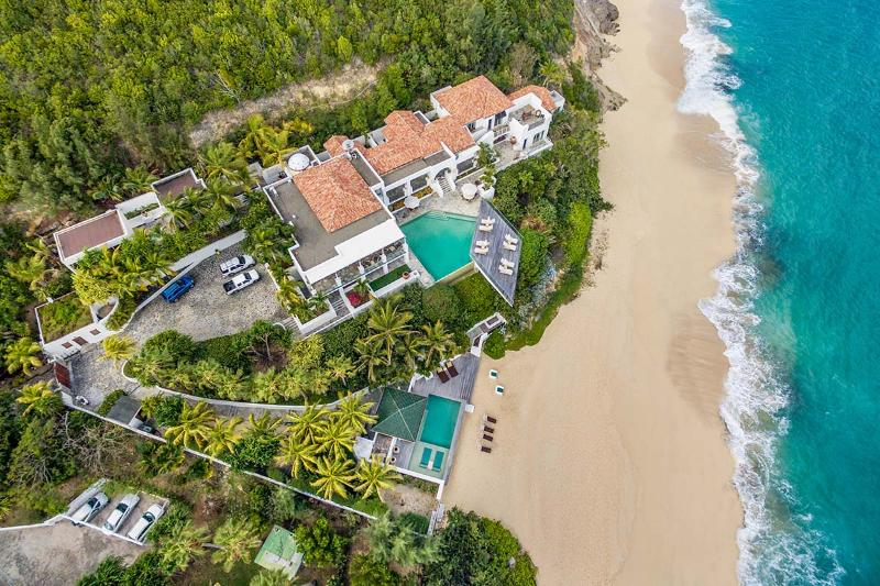 L'Oasis at Baie Rouge, Saint Maarten - Beachfront, 2 Pools, Jacuzzi & Chef - Image 1 - Terres Basses - rentals