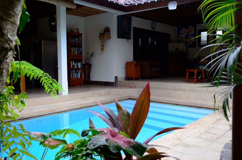 The dipping pool is always inviting. - Villa Baliku - Private, 2room villa, close to Ubud - Ubud - rentals