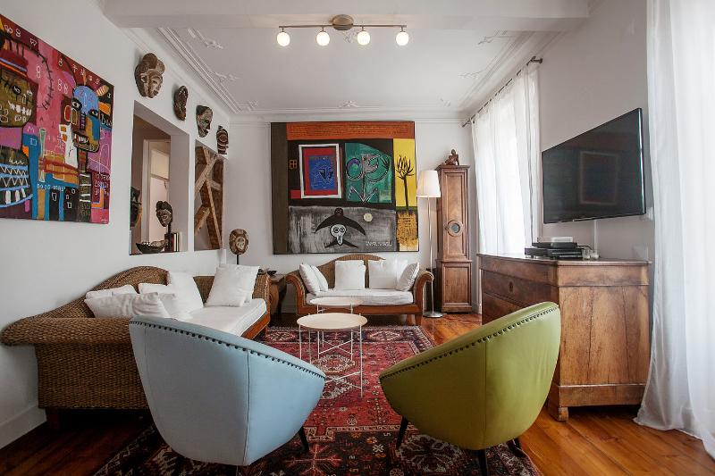 Living Room - Diva6 -Beautiful apartment in the center of Lisbon - Lisbon - rentals