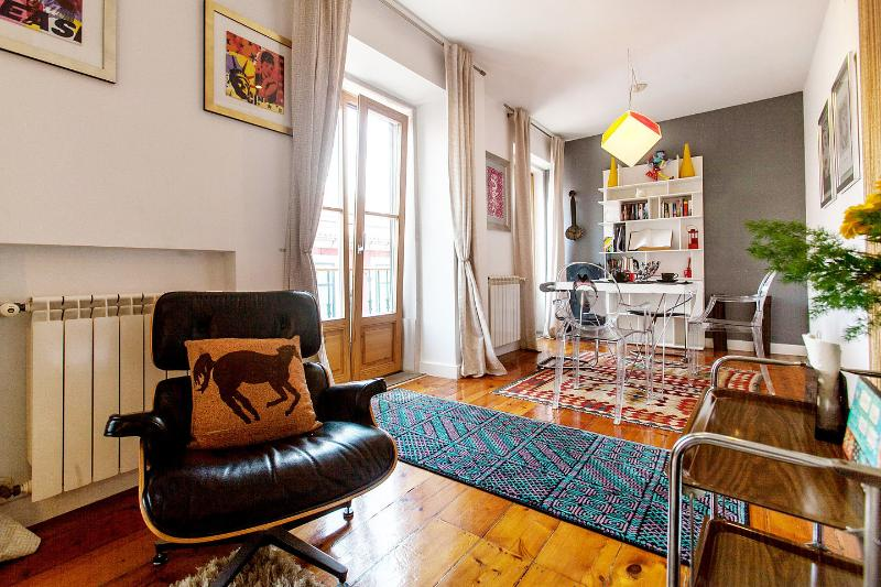 Living Room - Boavista -Beautiful apartment with terrace in the center of Lisbon - Lisbon - rentals