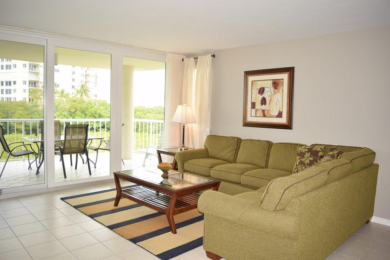 Living Room - Westshore at Naples Cay 203 - Naples - rentals