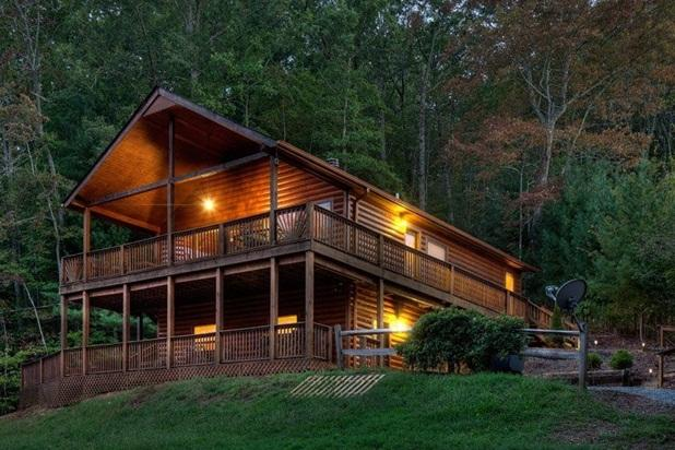 Appalachian Escape at Dusk - Appalachian Escape - Great Mountain Home - Blue Ridge - rentals