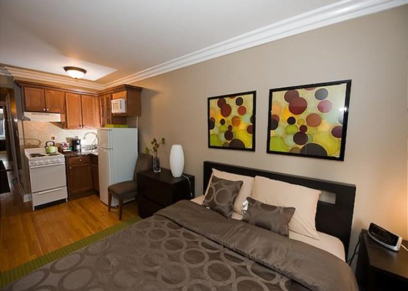 Furnished Studio Apartment at N Rush St & E Bellevue Pl Chicago - Image 1 - Chicago - rentals