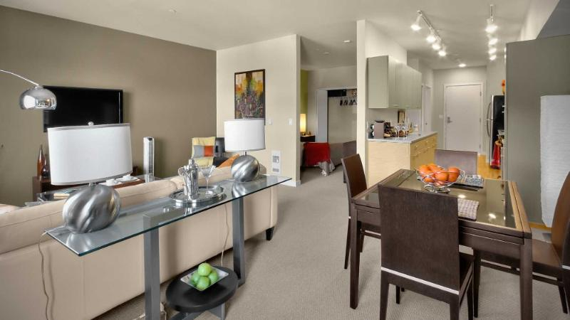 Sleek Studio Redmond Apartment - Image 1 - Redmond - rentals