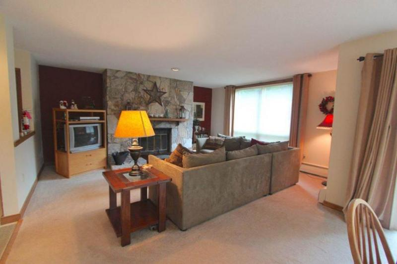Ski-in/out retreat w/ shared hot tub, pool, sauna & game room! Golf nearby! - Image 1 - Dover - rentals