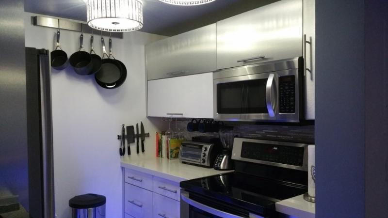 Furnished 1-Bedroom Condo at 2nd St & Hudson St Jersey City - Image 1 - Jersey City - rentals