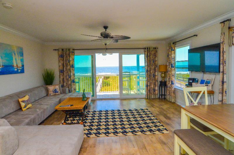 AWESOME CONDO - White Caps D- Luxury Oceanfront 3 Bedroom Condo - Carolina Beach - rentals