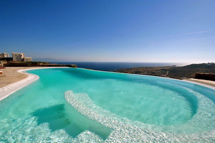 Blue Villas | Phaedra | Super Paradise Beach - Image 1 - Mykonos Town - rentals