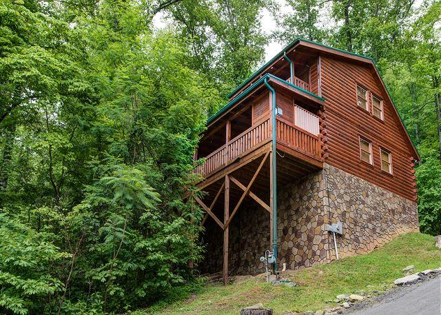 Tall on the Mountain - Back to Nature  Outdoor Fireplace Hot Tub View WiFi Gaming Free Nights - Gatlinburg - rentals