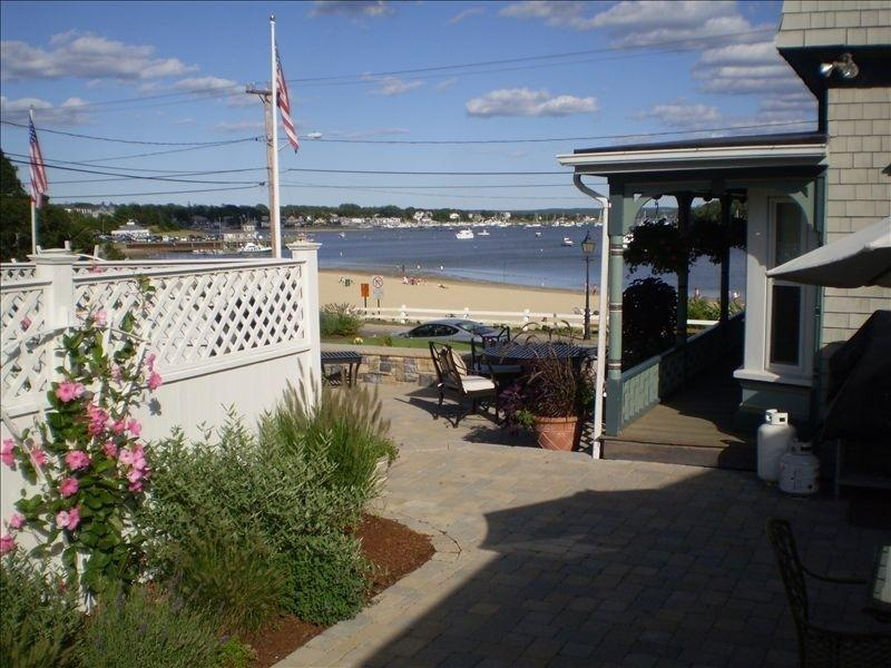 view from patio A - Perfect Onset Beach Cottage - East Wareham - rentals