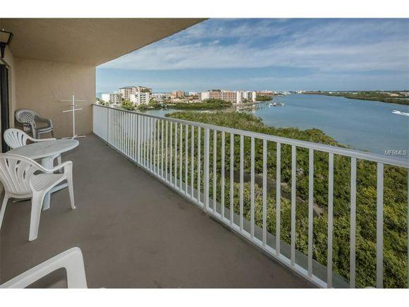 View from 7th floor unit!! - BAY SHORES Stunning waterviews & beach 500' away - Indian Shores - rentals