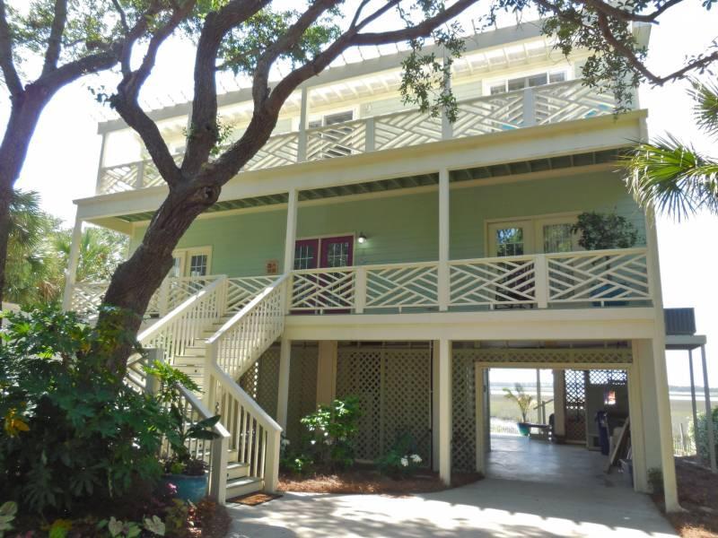 Hidden Gem - Hidden Gem@ - Folly Beach, SC - 4 Beds BATHS: 4 Full - Blue Mountain Beach - rentals