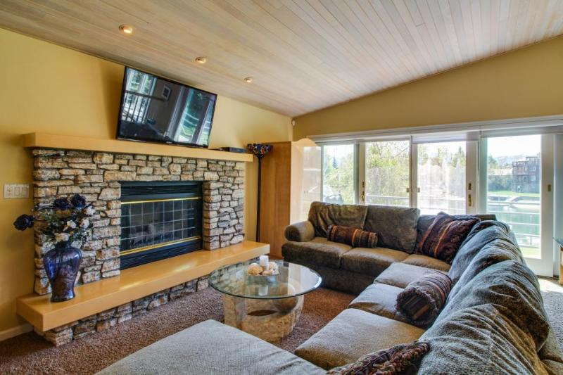 High-end waterfront home, with private hot tub & dock. Shared pool access! - Image 1 - South Lake Tahoe - rentals
