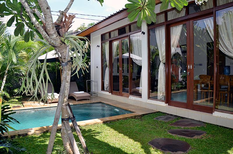 Villa Jepun is fully air-conditioned. - Villa Jepun - Peaceful 2bedroom AC Villa in Ubud - Ubud - rentals
