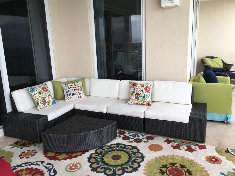 Lovely wrap around balcony - Seas the Day! 4 Bdrm 3 bath corner condo - Panama City Beach - rentals