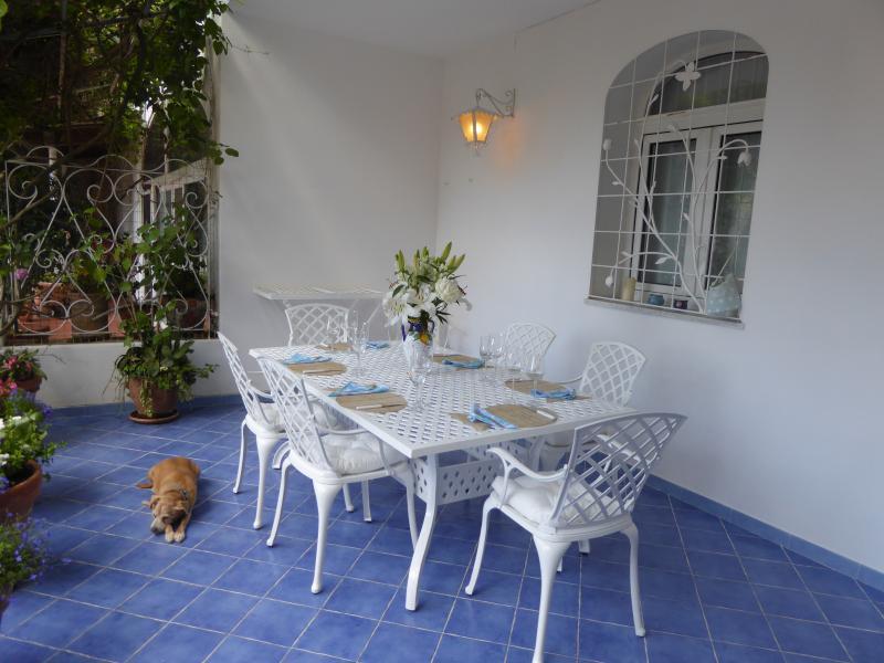 Terrace - Casa Lara - Positano - rentals