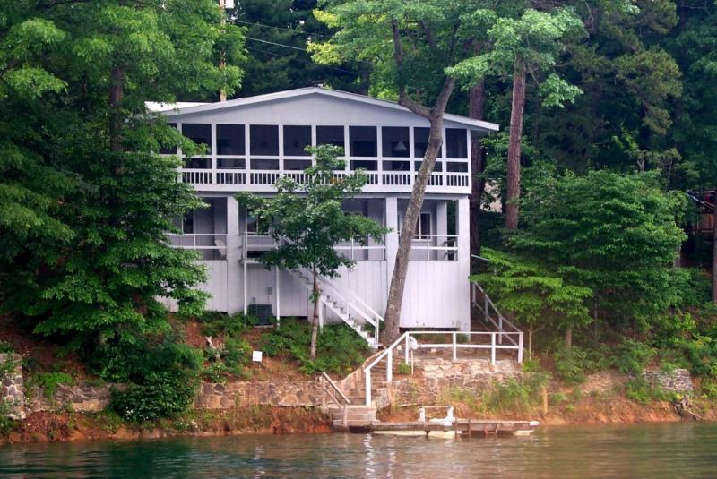 Lakefront Cottage on Lake Santeetlah - Lakefront Cottage on Lake Santeetlah - Robbinsville - rentals