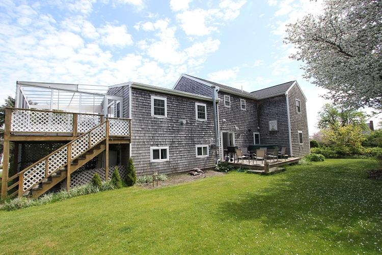 Back of the House - 36 Wood Ave - Sandwich - rentals