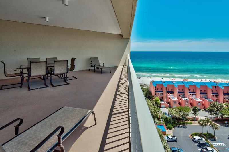 This is Gulf Front Living!  Gorgeous Gulf Views from Oversize Balcony!! - Updated Condo ~ Gorgeous Gulf Views! - Miramar Beach - rentals