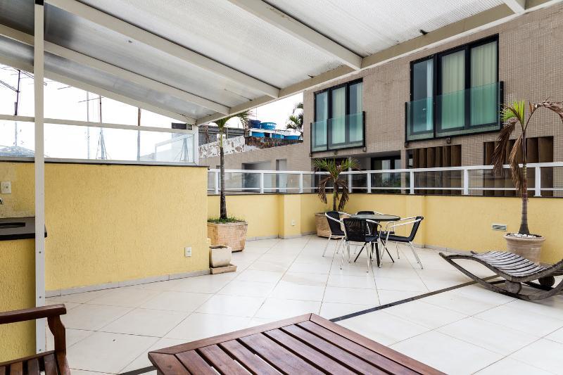 Terrace - RioBeachRentals - Beach Therapy Penthouse #305 - Ipanema - rentals