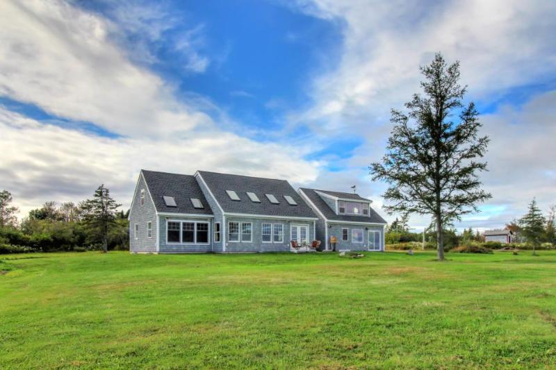 Lovely oceanfront home w/ lighthouse view and beach access! - Image 1 - Lubec - rentals