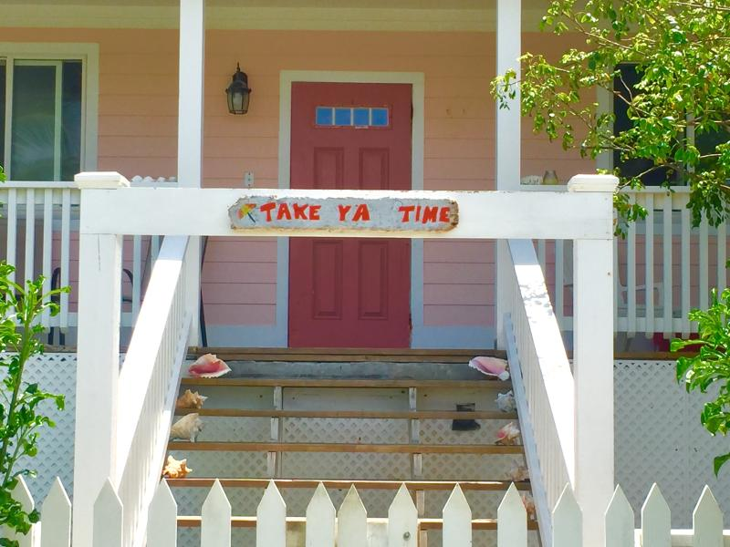 Come and enjoy this inviting porch - Cute, Quaint & Safe - Take 'ya' Time Cottage - Governor's Harbour - rentals