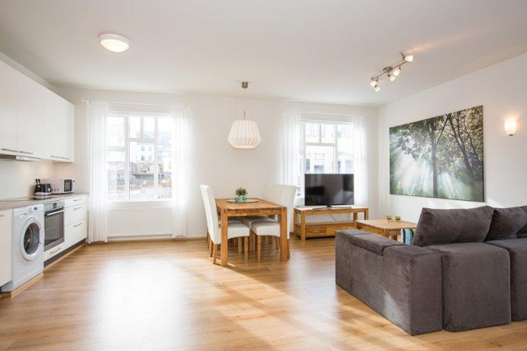 Hverfisgata Two-Bedroom Apartment (5 adults) - Image 1 - Reykjavik - rentals