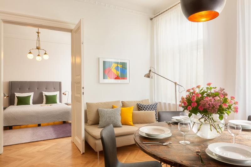 Two-Bedroom Art Nouveau Apartment - Image 1 - Prague - rentals