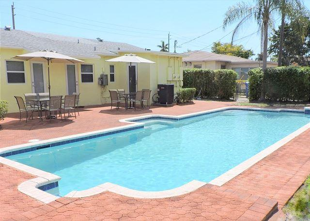 w Duplex 3 Bedrms 3 Baths for 8 Huge Pool Near Boardwalk, Beach & Downtown - Image 1 - Hollywood - rentals