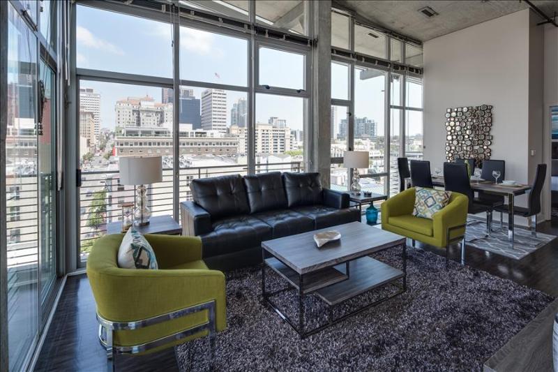 Stay Alfred Modern 2BR Loft in the Gaslamp L62 - Image 1 - San Diego - rentals