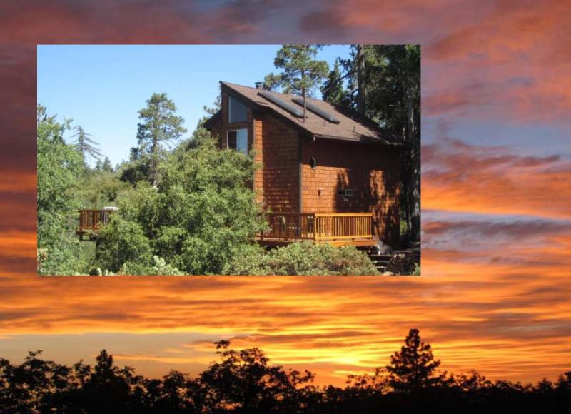 Beautiful Sunsets and Valley Views - Sunset & Valley Views, 2 BDRM 1.5 BA and Playhouse - Idyllwild - rentals