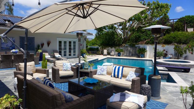 Resortstyle Pool/7min to Beach/Estate w/Golf Views - Image 1 - Rancho Santa Fe - rentals